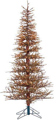 Sterling Tree Company 6Ft Pre-Lit Hard Needle Brown Twig Tree