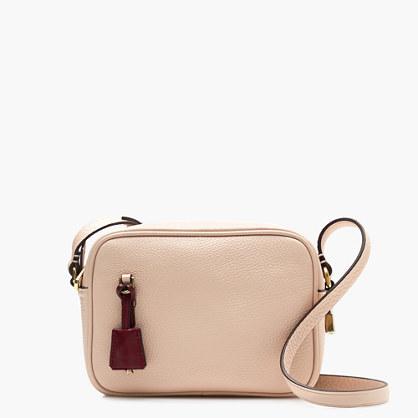 J.CrewSignet bag in Italian leather