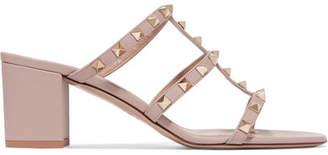 Valentino The Rockstud 70 Leather Sandals