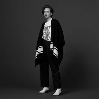 Sandro Knit cape cardigan
