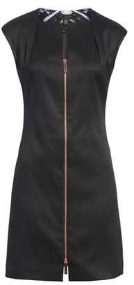Ted Baker Zip Front A-Line Dress