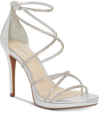Jessica Simpson Jaeya Strappy Dress Sandals Women Shoes