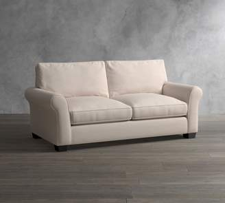 Pottery Barn PB Comfort Eco Roll Arm Upholstered Sofa