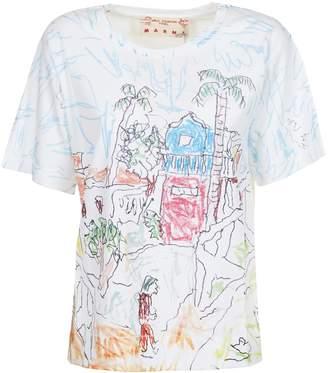 Marni Doodle Print T-shirt