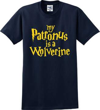 Wolverine Utopia Sport Michigan Wolverines Fans A is My Patronus T-Shirt (S-5X)
