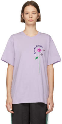 Noah NYC Purple Earth Crisis T-Shirt