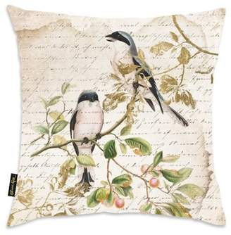 Oliver Gal Gallery Sing Like Birds Decorative Throw Pillow - 18x18