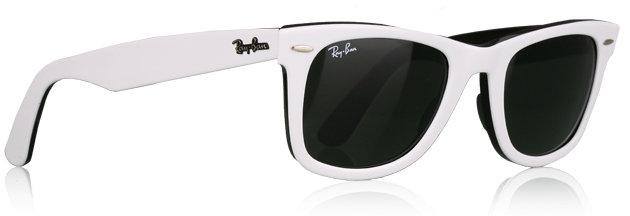 Ray-Ban White Wayfarer Sunglasses