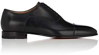 Christian Louboutin Men's Greggo Flat Leather Balmorals