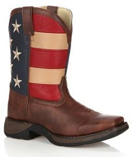 Lil Durango Kids' American Flag 8-in. Western Boots $74.99 thestylecure.com