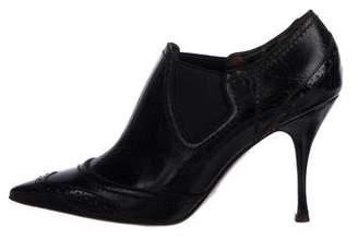 Dolce & Gabbana Brogue Ankle Booties