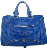 Treesje - Asher Grande Blue Leather Handbag