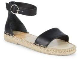 Dolce Vita Bayley Leather Ankle Strap Espadrilles