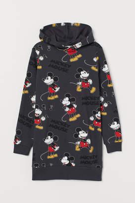 H&M Long Hooded Sweatshirt - Gray