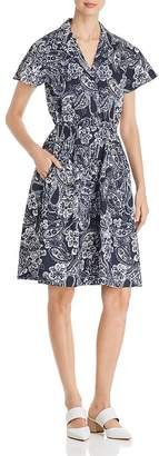 DKNY Paisley-Print Shirt Dress