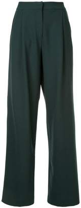 Dion Lee high waist flared trousers
