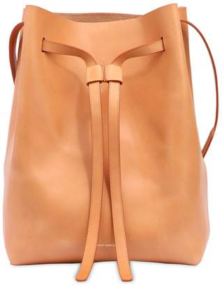 Mansur Gavriel Drawstring Vegetable Tanned Hobo Bag