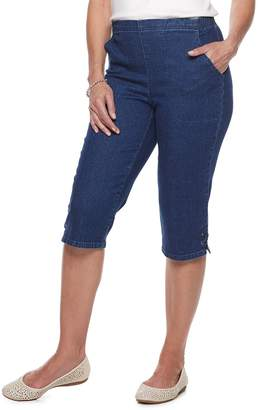 Croft & Barrow Petite Classic Pull-On Capris