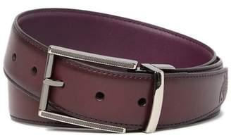 Robert Graham Reversible Leather Dress Belt