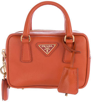 pradaPrada Saffiano Mini Zip Bag