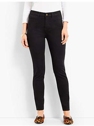 Talbots Comfort Stretch Denim Jeggings - Black