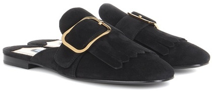 pradaPrada Suede Loafers