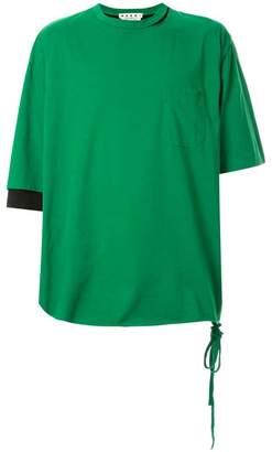 Marni oversized colour block T-shirt