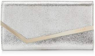 Jimmy Choo Leather Emmie Clutch Bag