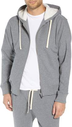 The Kooples Regular Fit Arm Stripe Hoodie