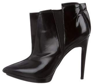 Pierre Hardy Leather Pointed-Toe Boots