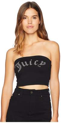 Juicy Couture Knit Juicy Shrunken Tee Women's T Shirt