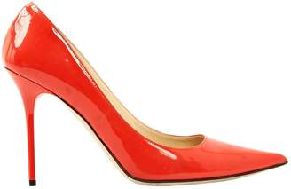 Jimmy Choo Orange Patent leather Heels