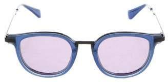 Jonathan Saunders Orson Reflective Sunglasses