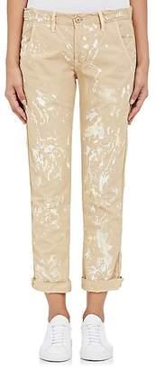 NSF Women's Paint-Splatter Cotton Canvas Pants