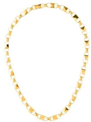 Michael Kors Mercer Link Chain Necklace yellow Michael Kors Mercer Link Chain Necklace