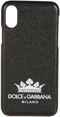 Dolce & Gabbana Crown Logo Iphone X Cover