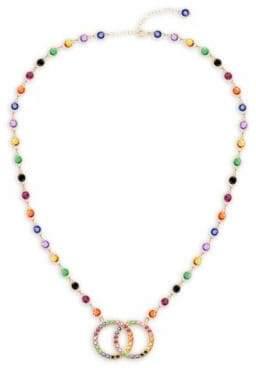 Love Knot Station Pendant Necklace