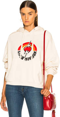 RE/DONE Oversized Love Struck Graphic Hoodie