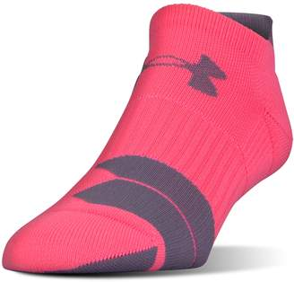 Under Armour Women's Cushioned Tab No-Show Running Socks