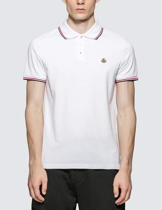 Moncler Logo Patch Polo