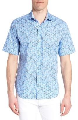 Tailorbyrd Alaric Regular Fit Print Sport Shirt