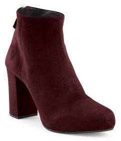 Prada Suede Block Heel Booties