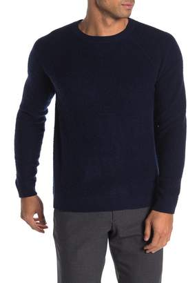 Autumn Cashmere Loop Back Texture Wool & Cashmere Pullover