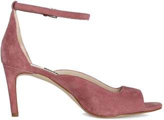 Nine West Trip 1 Open-Toe Leather Ankle-Strap Sandals