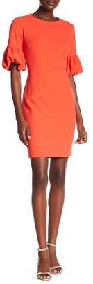 Donna Morgan Balloon Sleeve Sheath Dress