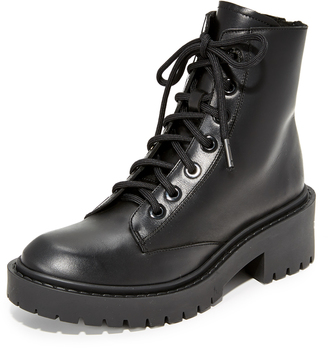 KENZO Pike Shearling Lined Boots $455 thestylecure.com