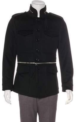 Alexander McQueen 2018 Virgin Wool & Cashmere M-65 Field Jacket