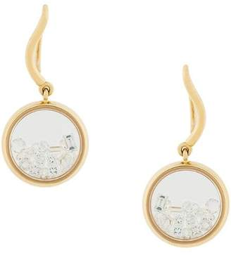 Aurelie Bidermann 18kt gold Chivoir diamond earrings
