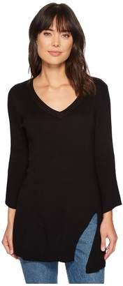 Splendid V-Neck Pullover Women's Clothing