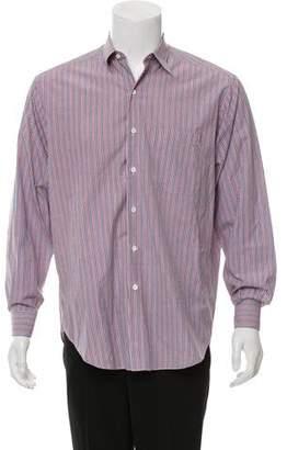 Barneys New York Barney's New York Striped Button-Up Shirt